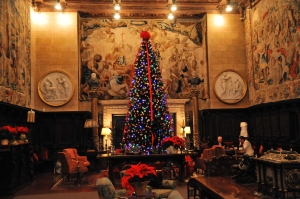 The Great Hall During the Holiday Season